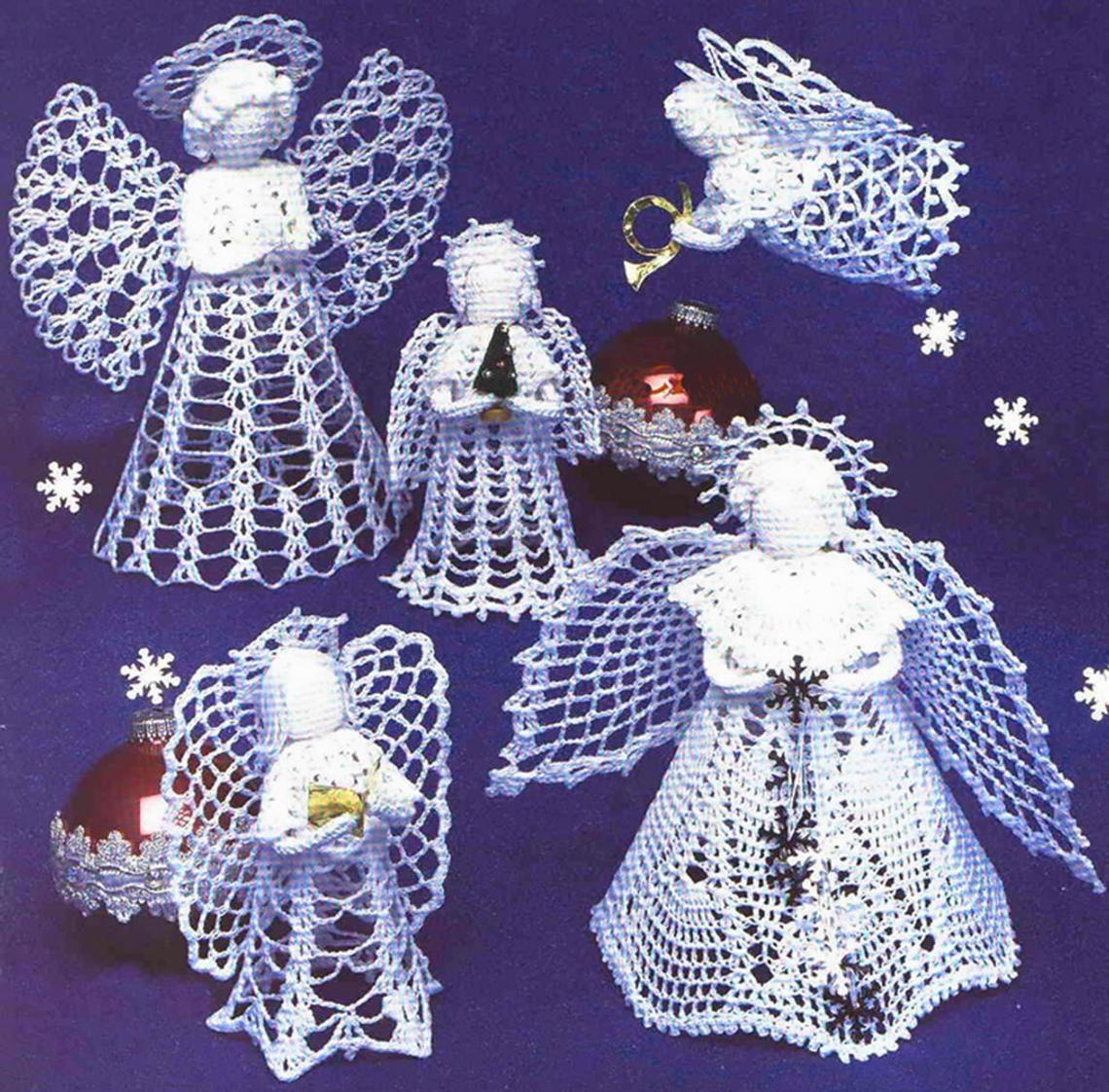Instant download pdf crochet pattern crochet angel
