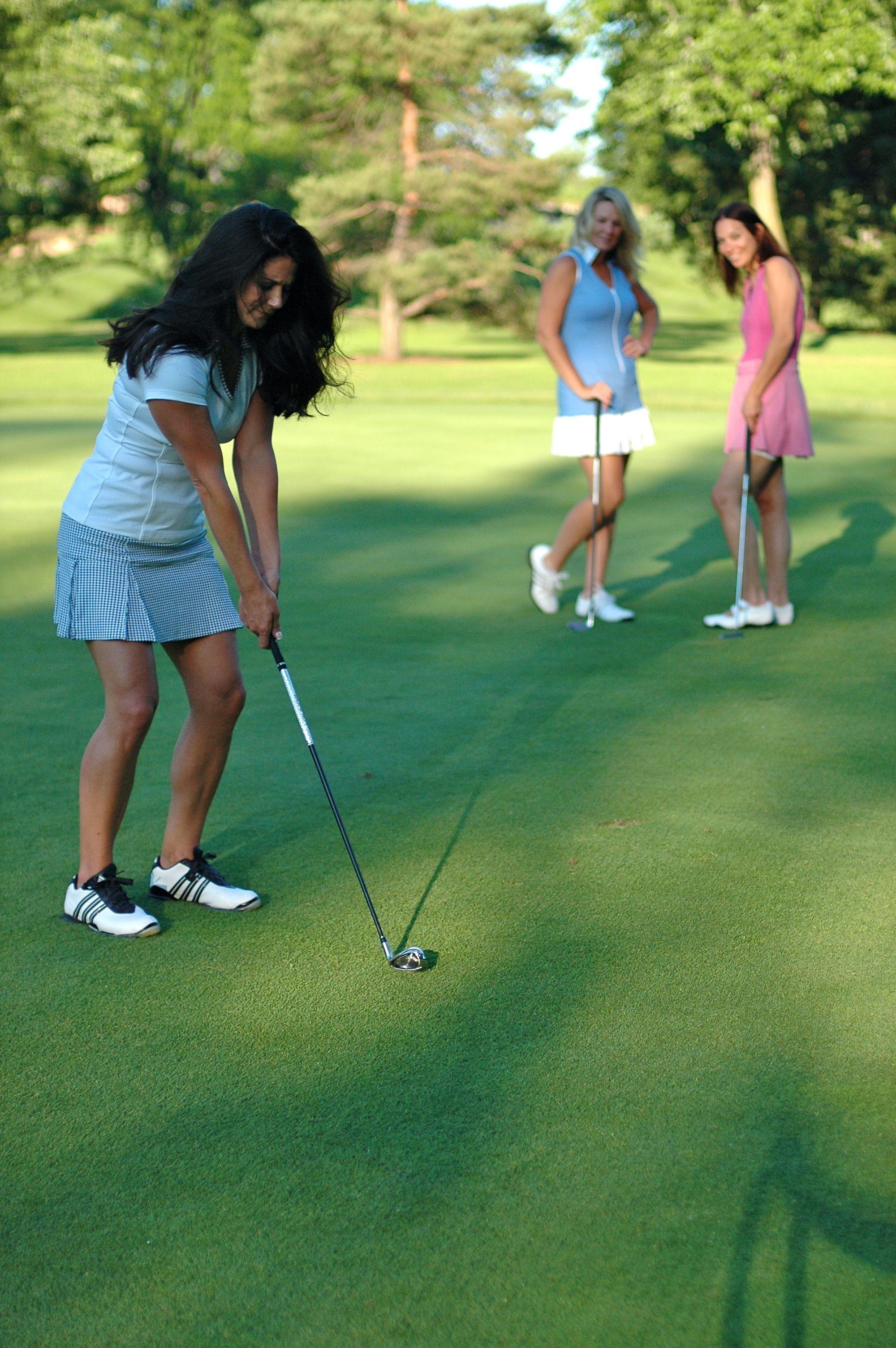 Golf Fun On The Course Tennis Clothes Golf Fashion Summer Fun