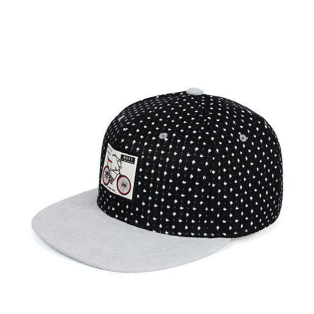 587259ba546 Online exclusive  polka dot snapback cap
