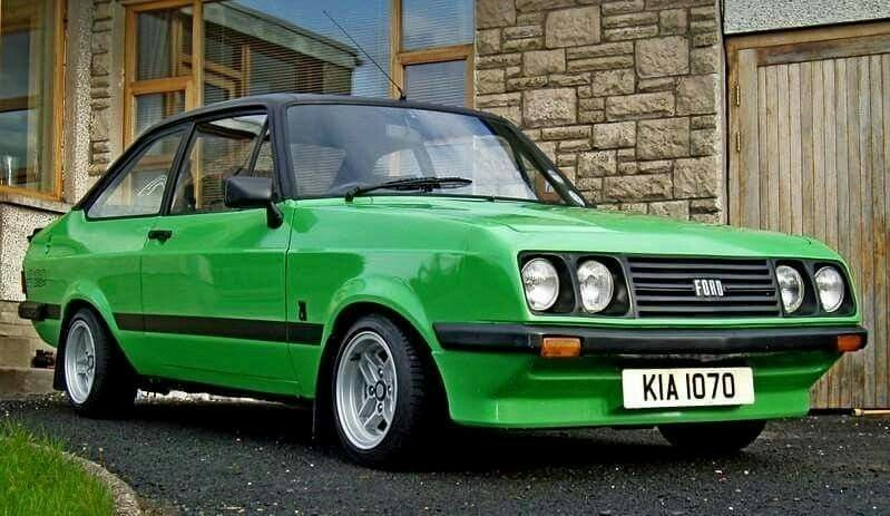 Epingle Sur Ford Escort Mk2