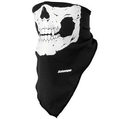 Schampa Skull Half-Facemask  WANT | Some of my favorite