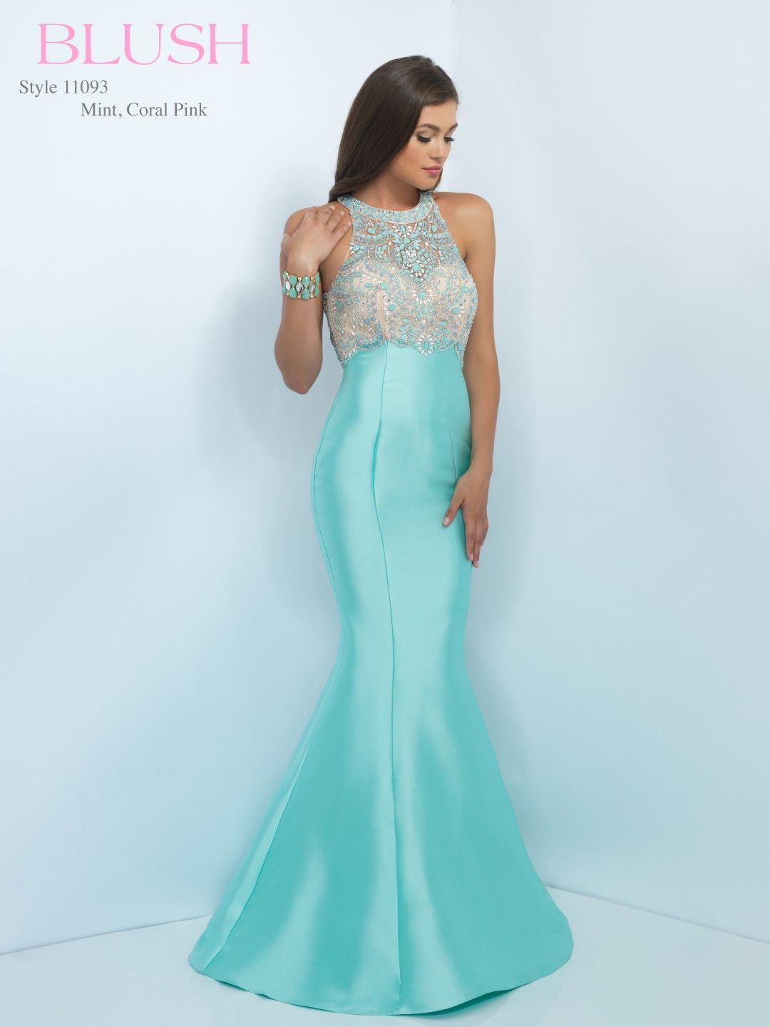 BLUSHPROM #PROM #11093 Blush Prom - 11093. Available in Coral Pink ...
