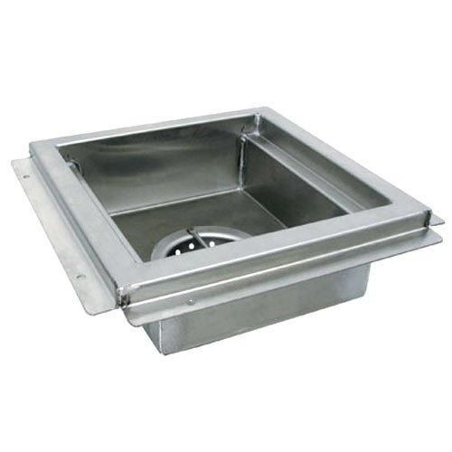 Floor Sink 12 X 12 X 4 Deep With Waste Cup And Removable Stainless Strainer Basket Advance Tabco Fdr 1212 Floor Sink