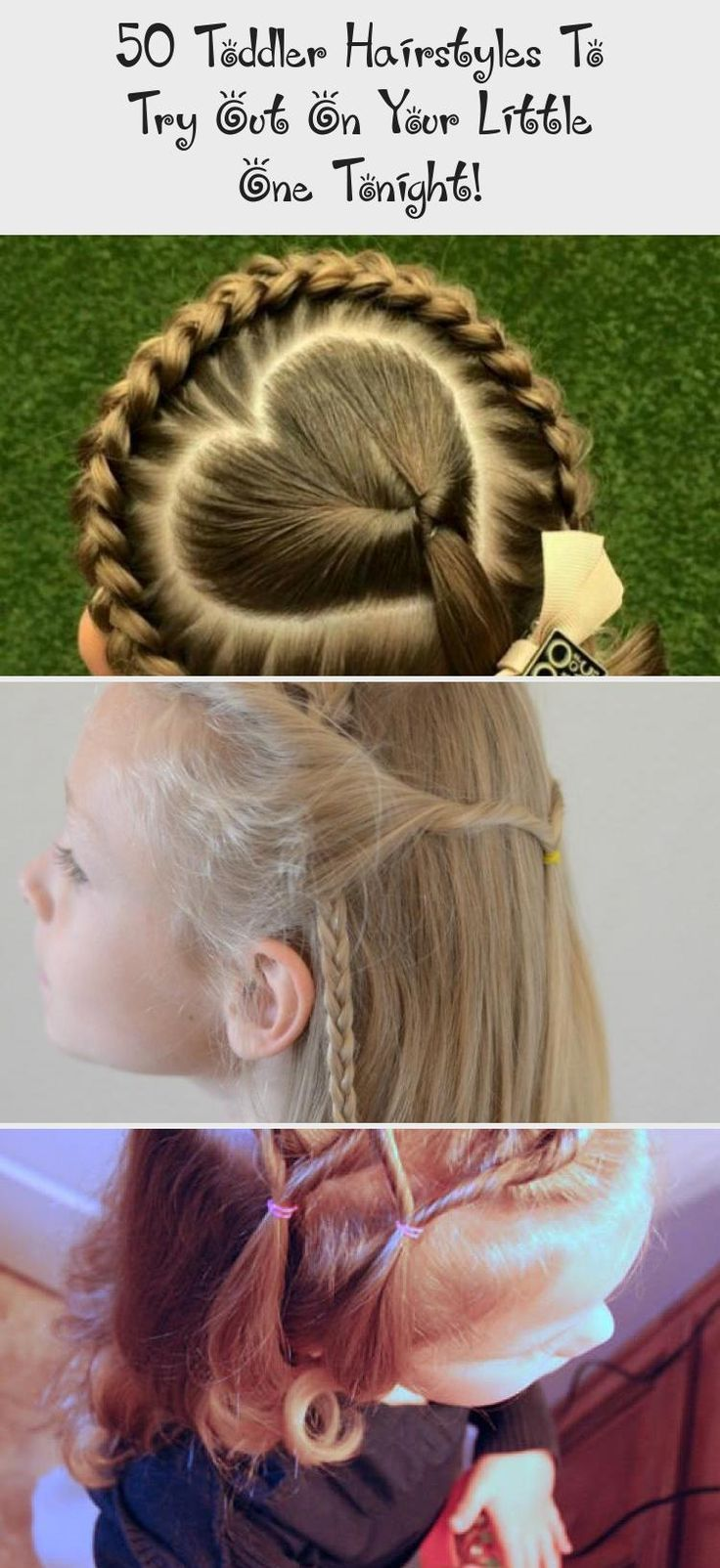 Top and bottom french braid ponytail