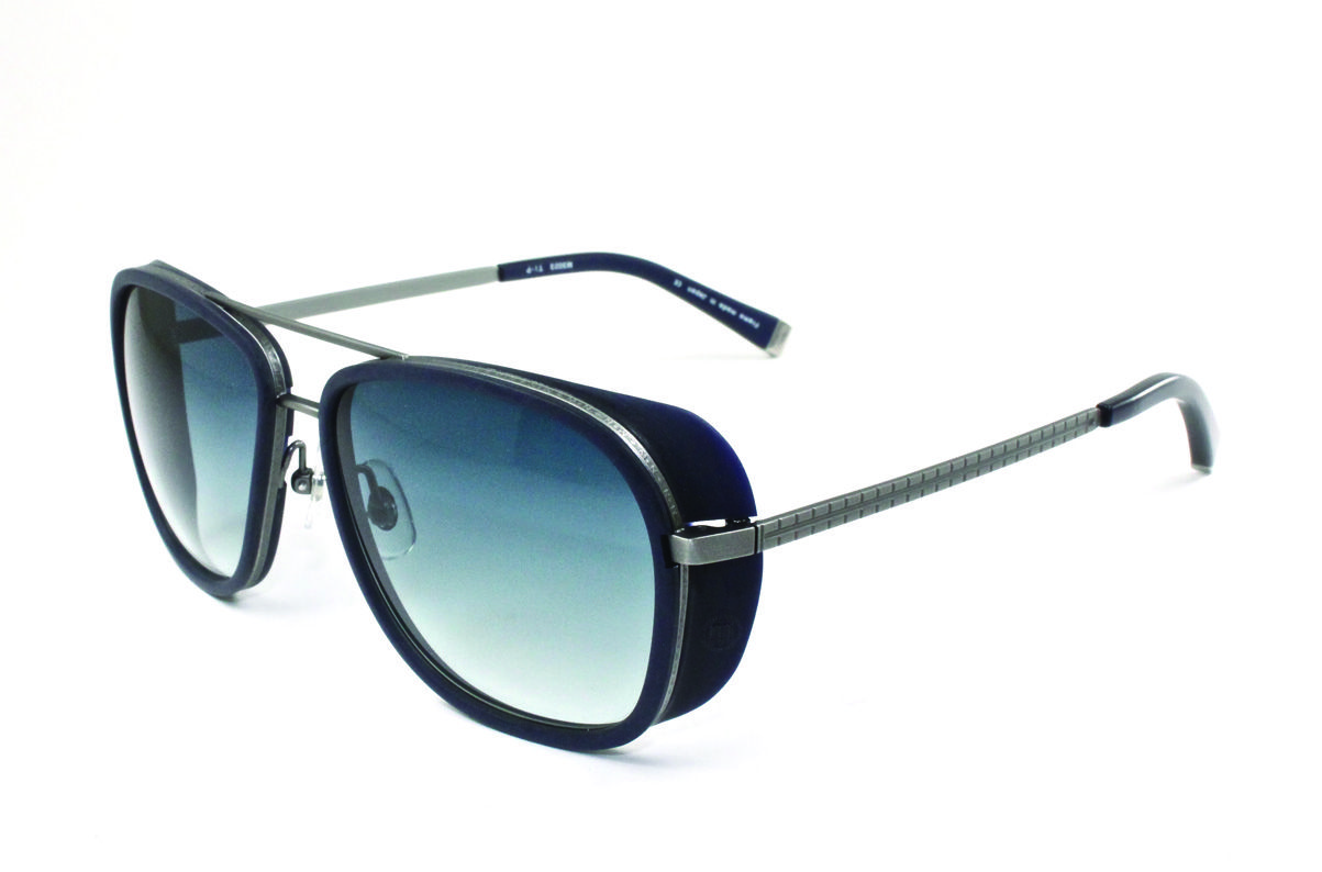 The Iron Man Sunglass worn by Robert Downey Jr! The Matsuda M3023 in cobalt  blue! These shades are HOT! Refer to our website for FAQs 27b92801e239
