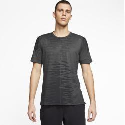 Photo of Nike Yoga Kurzarmhemd für Männer – Grau Nike