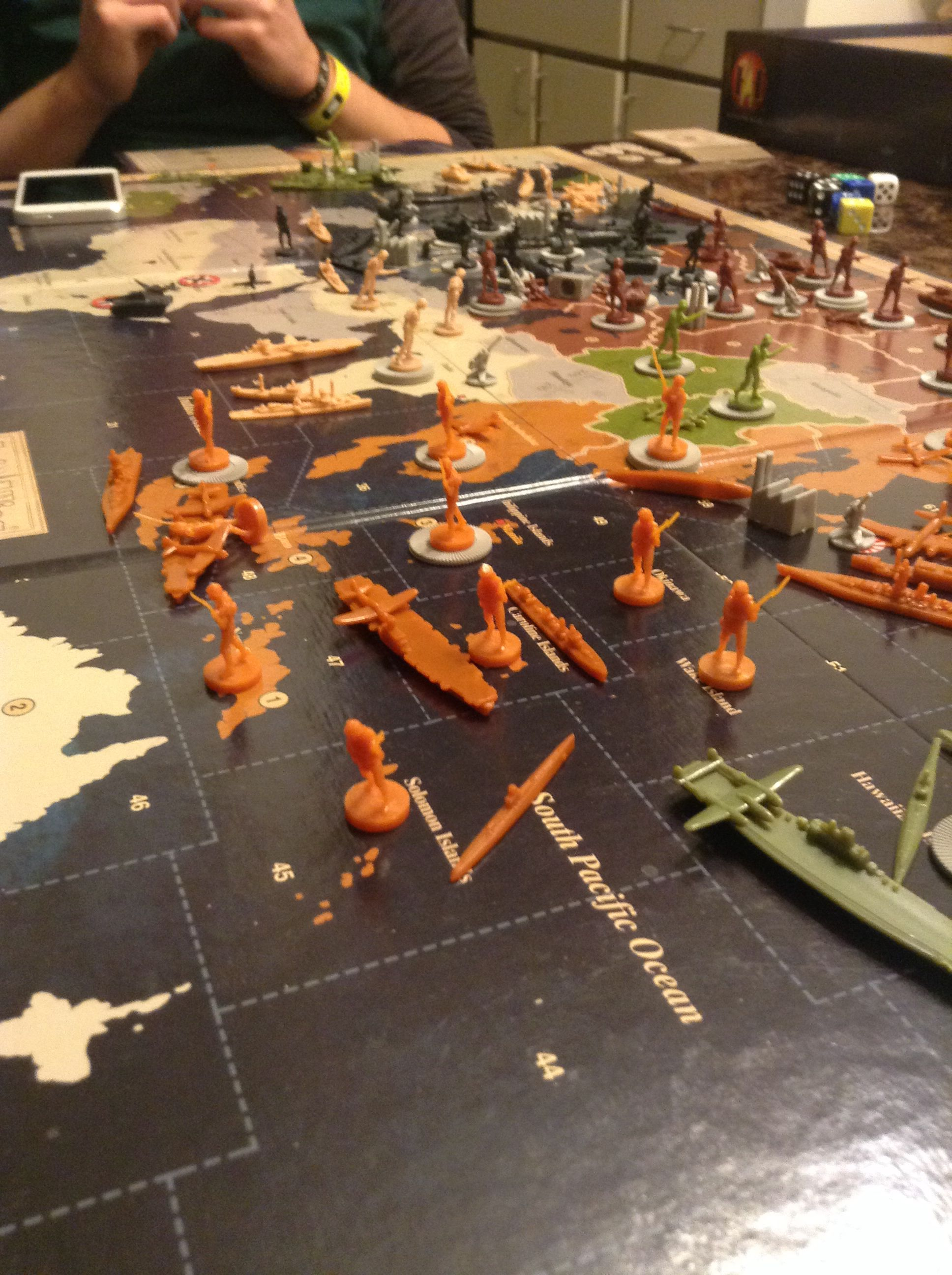 Axis and Allies Revised edition! One of my favorite board