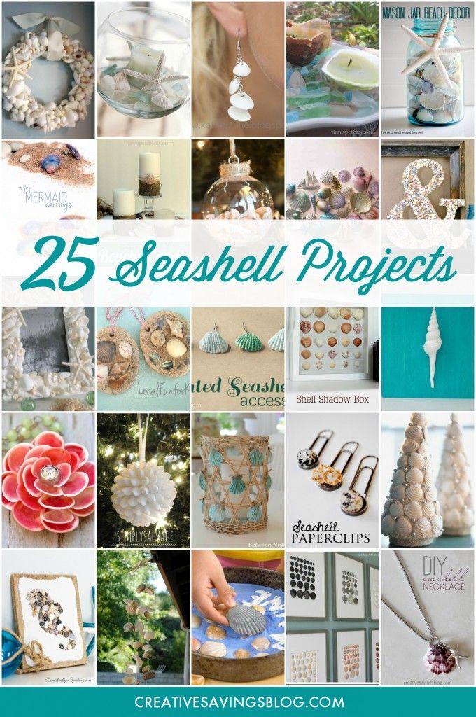 25 Stunning Seashell Projects & Beautiful DIY Seashell Crafts