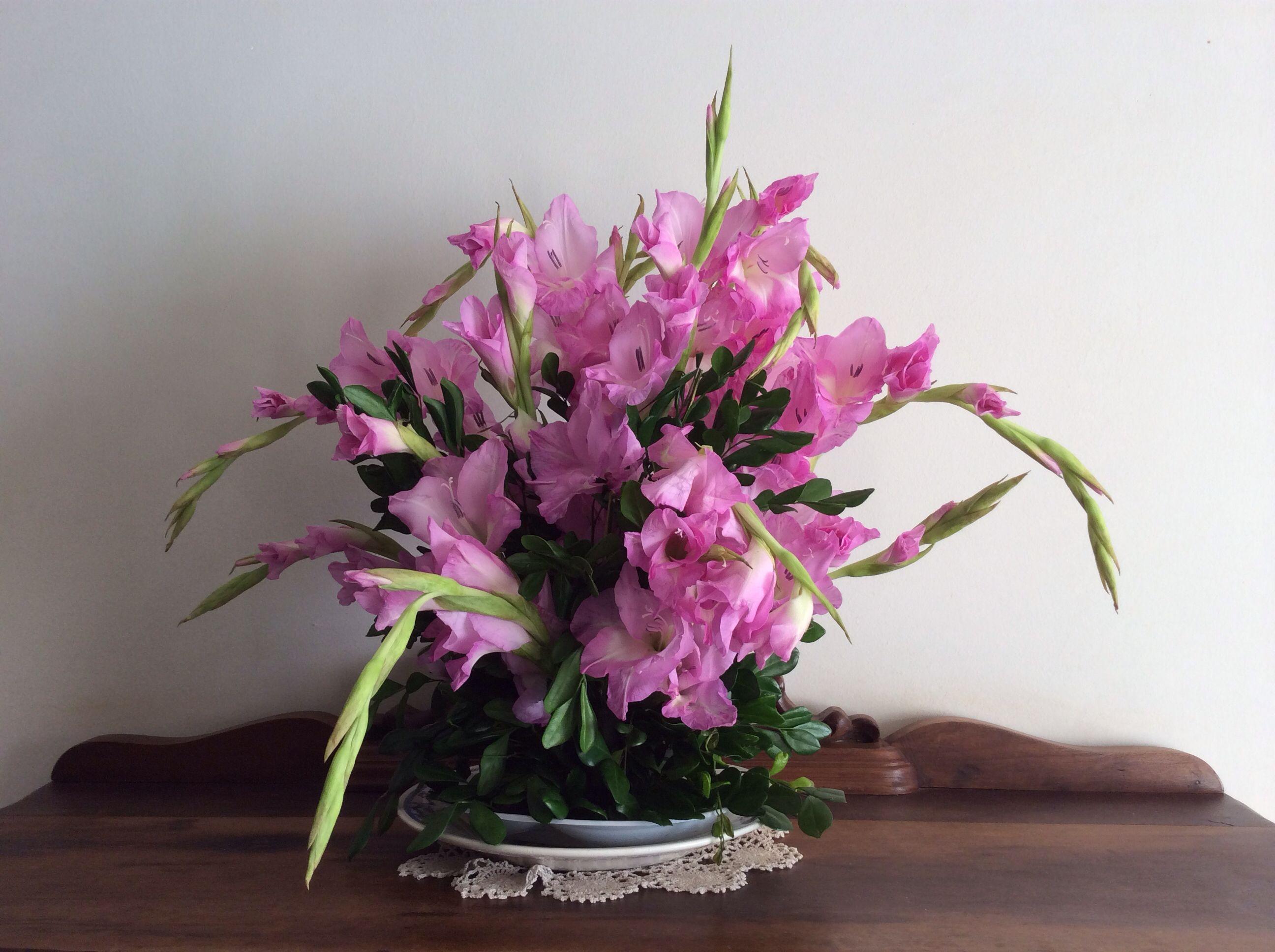 *******vaso com flores de minha casa*******