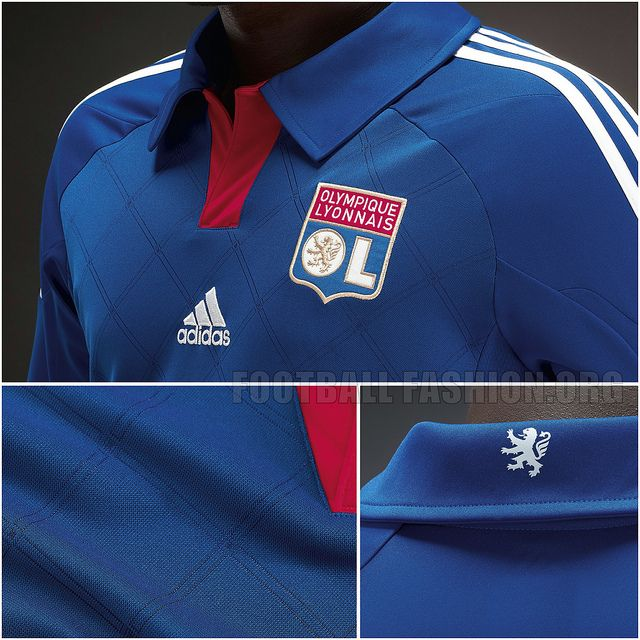 check out 4e5d7 7f10a Olympique Lyon 2012/13 Away Kit | Football Kits | Adidas ...