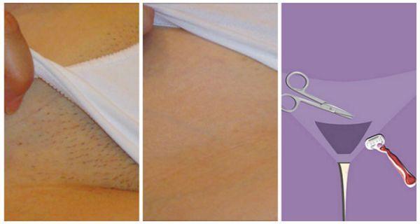 se d barrasser des poiles de votre partie intime. Black Bedroom Furniture Sets. Home Design Ideas