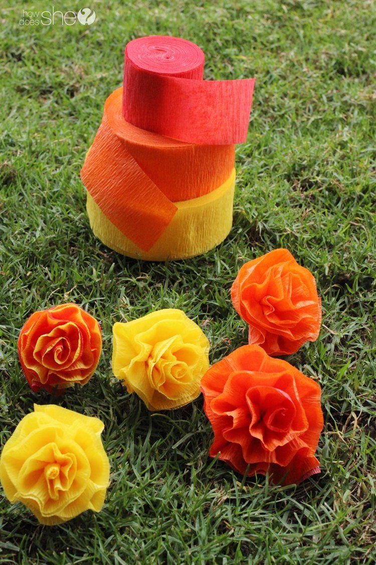Diana rambles flower lei tutorial how to make flower lei with diy pretty easy faux flower lei izmirmasajfo
