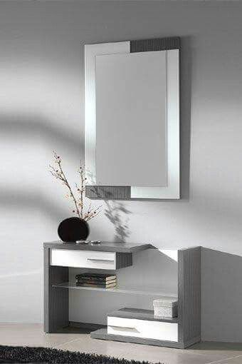 Recibidor minimalista muebles en 2019 bedroom decor - Recibidores minimalistas ...