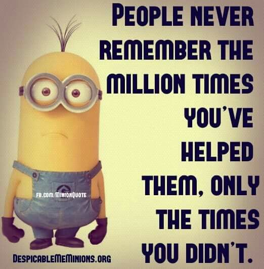 Selective Memory Quotes: Minions Quotes, Cute Minion