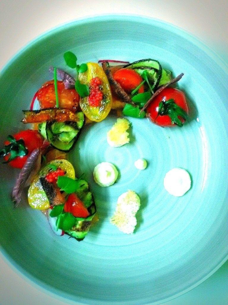 Italian Inspiration #10 nahuatl Tomate et Mozzarella au saumon ...
