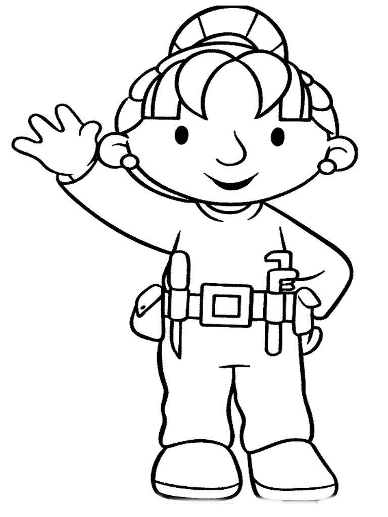 Bob The Builder Coloring Sheet Http Www Kidscp Com Bob The Builder Coloring Sheet Pinterest Cartoon Coloring Pages Bob The Builder Coloring Pages