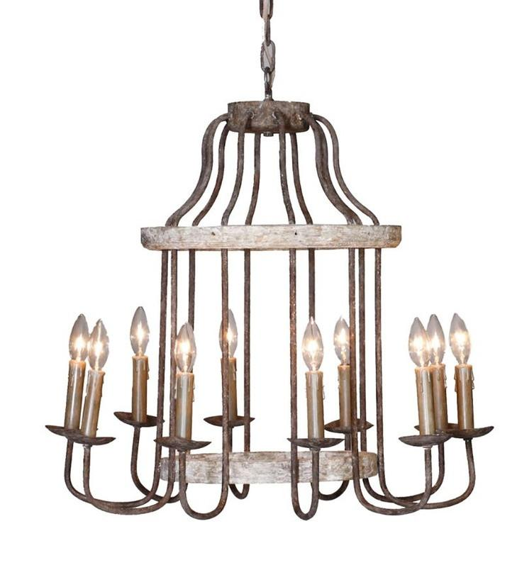 Antique Style Chandelier Rustic Lighting Adele Chandelier Gabby