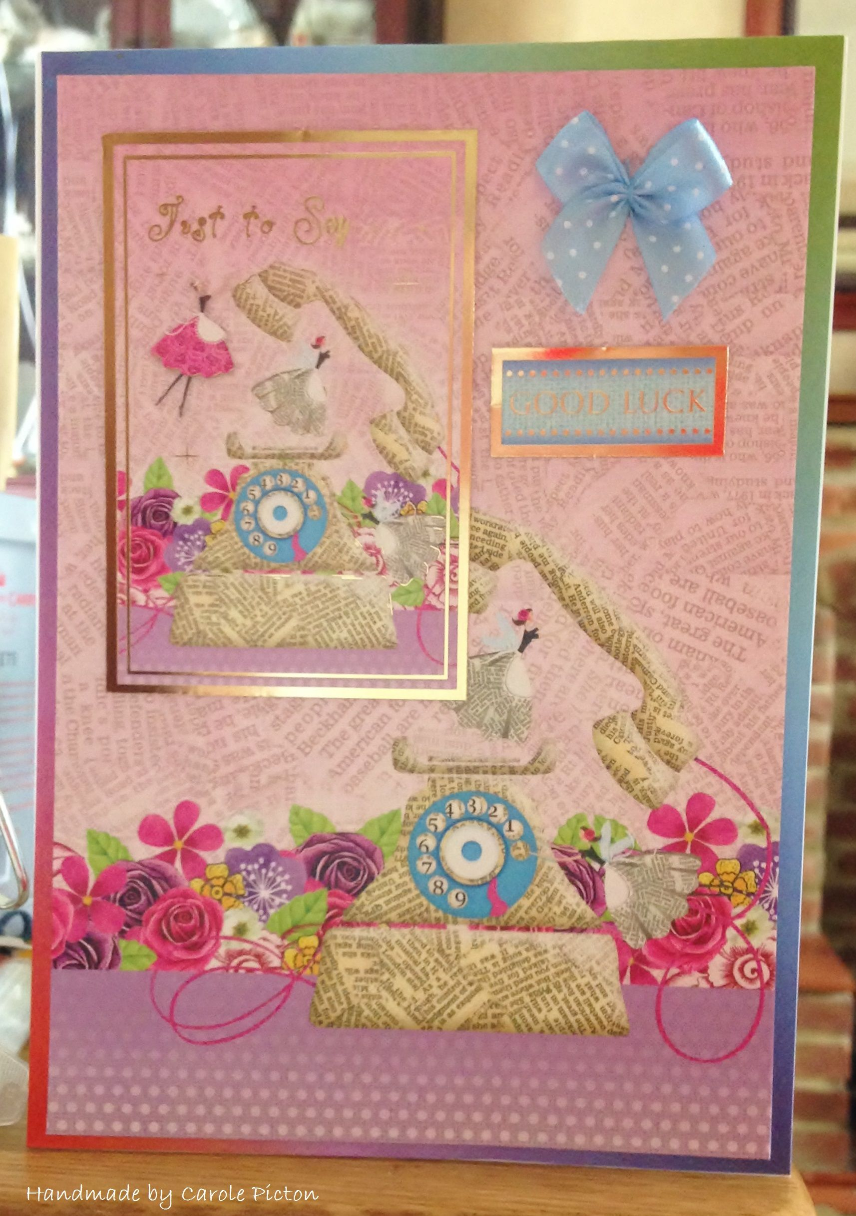 Greeting Card 68 A5 Card Makings From Hunkydory Card Making Cards Little Books