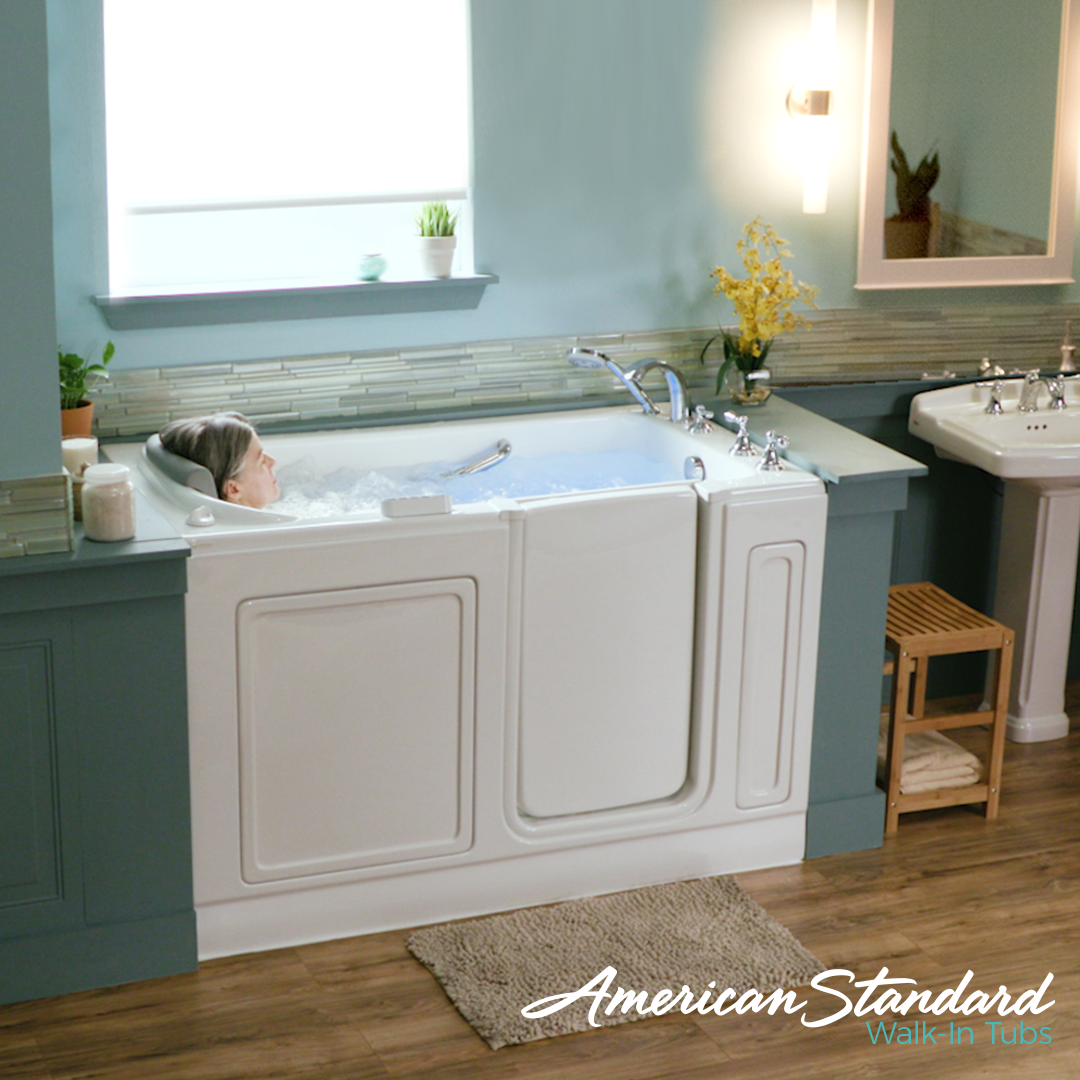 Pin by Carey Brothers on American Standard Walk in Tubs | Pinterest ...