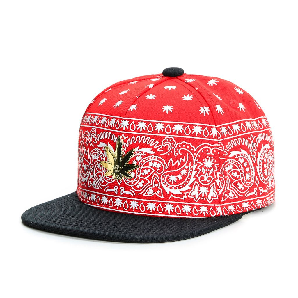 CAYLER & SONS HAZELY RED SNAPBACK