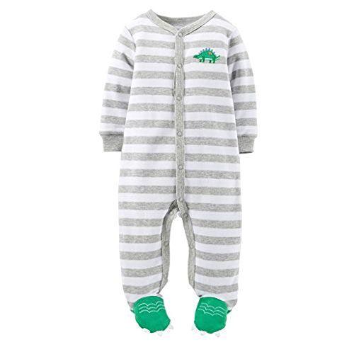 Amazon Com Carter S Baby Boys Cotton Zip Up Sleep Play Clothing