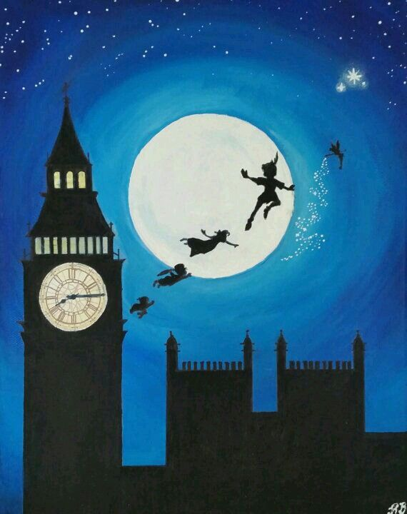 Discover Ideas About Peter Pan Painting