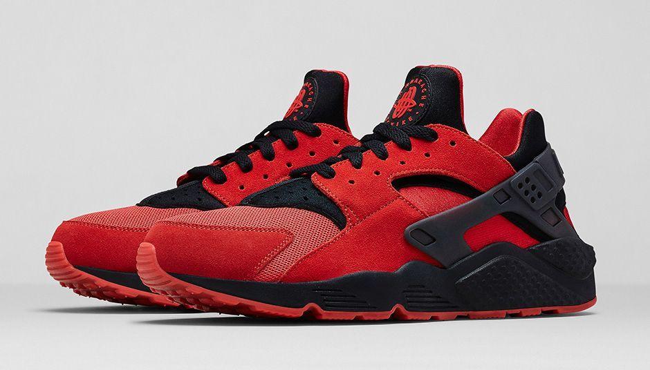 [NIKE SPORTSWEAR AIR HUARACHE COLLECTION] Nike Air Huarache 700878-600  University Red/