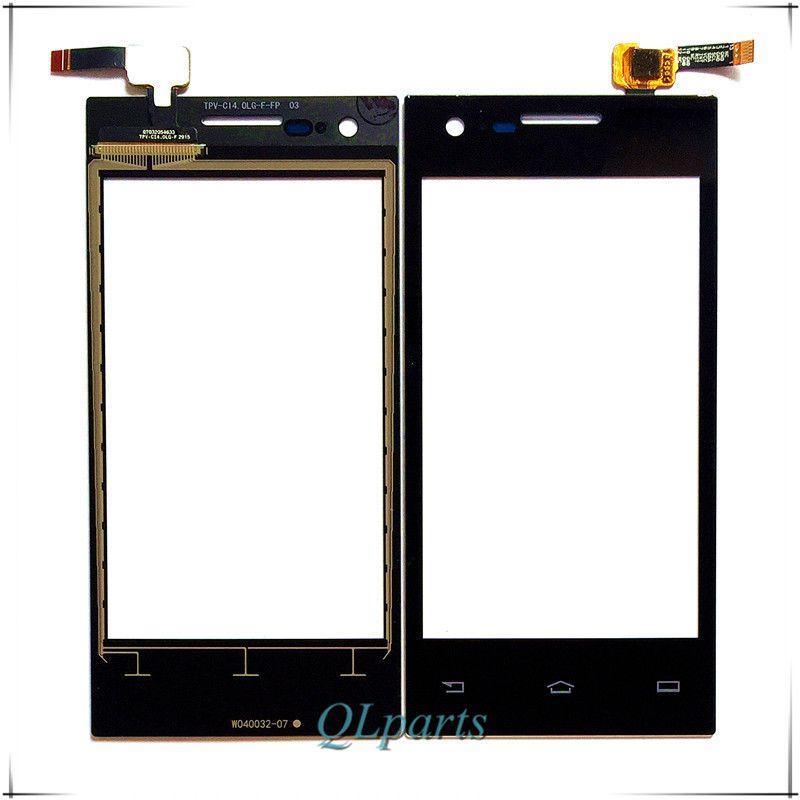 """4.0 """"touchscreen digitizer Voor Philips S309 cellphone voor glas touchscreen Voor Xenium CTS309 mobiele telefoon touch panel sensor"""