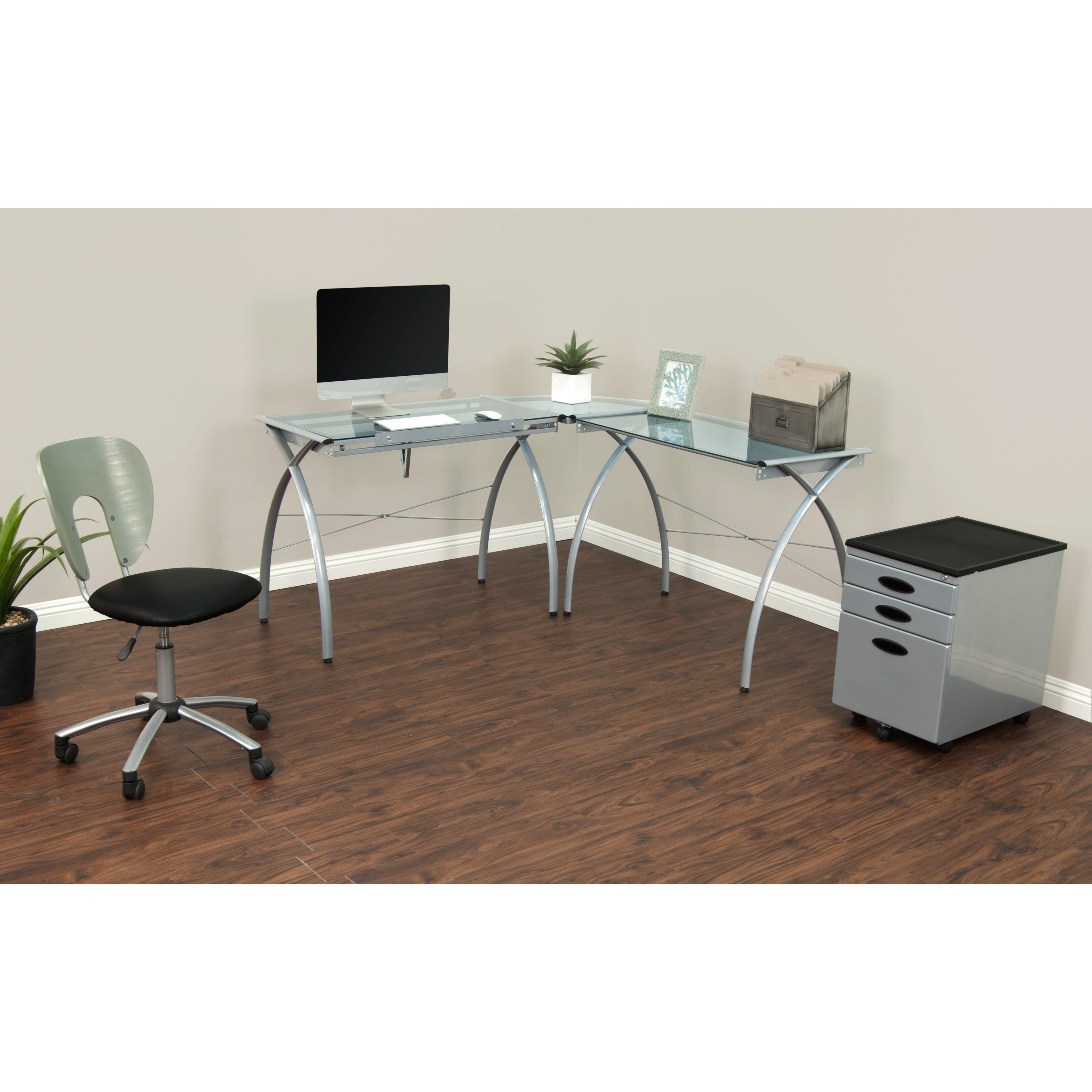 Studio Designs Futura LS Glass Top Drafting Table Work Center |  Overstock.com Shopping   The Best Deals On Drafting Tables