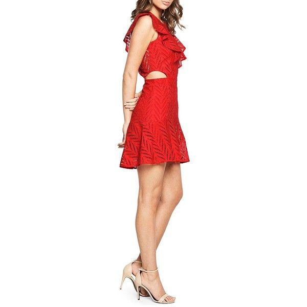 Bardot Eyelet Cutout Dress Clearance Sale Amazon Cheap Price 3Nis7u8FT