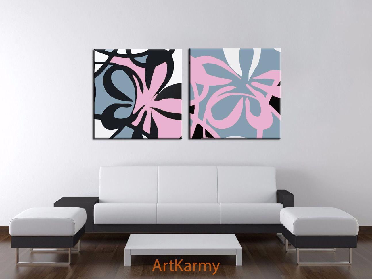 coppia di dipinti moderni   Dipinti moderni, Dipinti ...