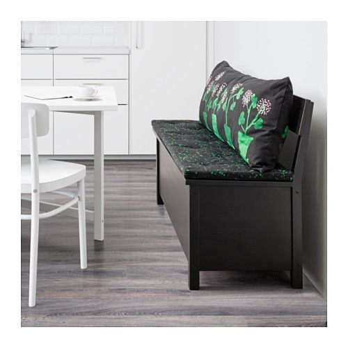 H Stfibbla Cushion Multicolor Storage Benches Storage And Sofa Bench