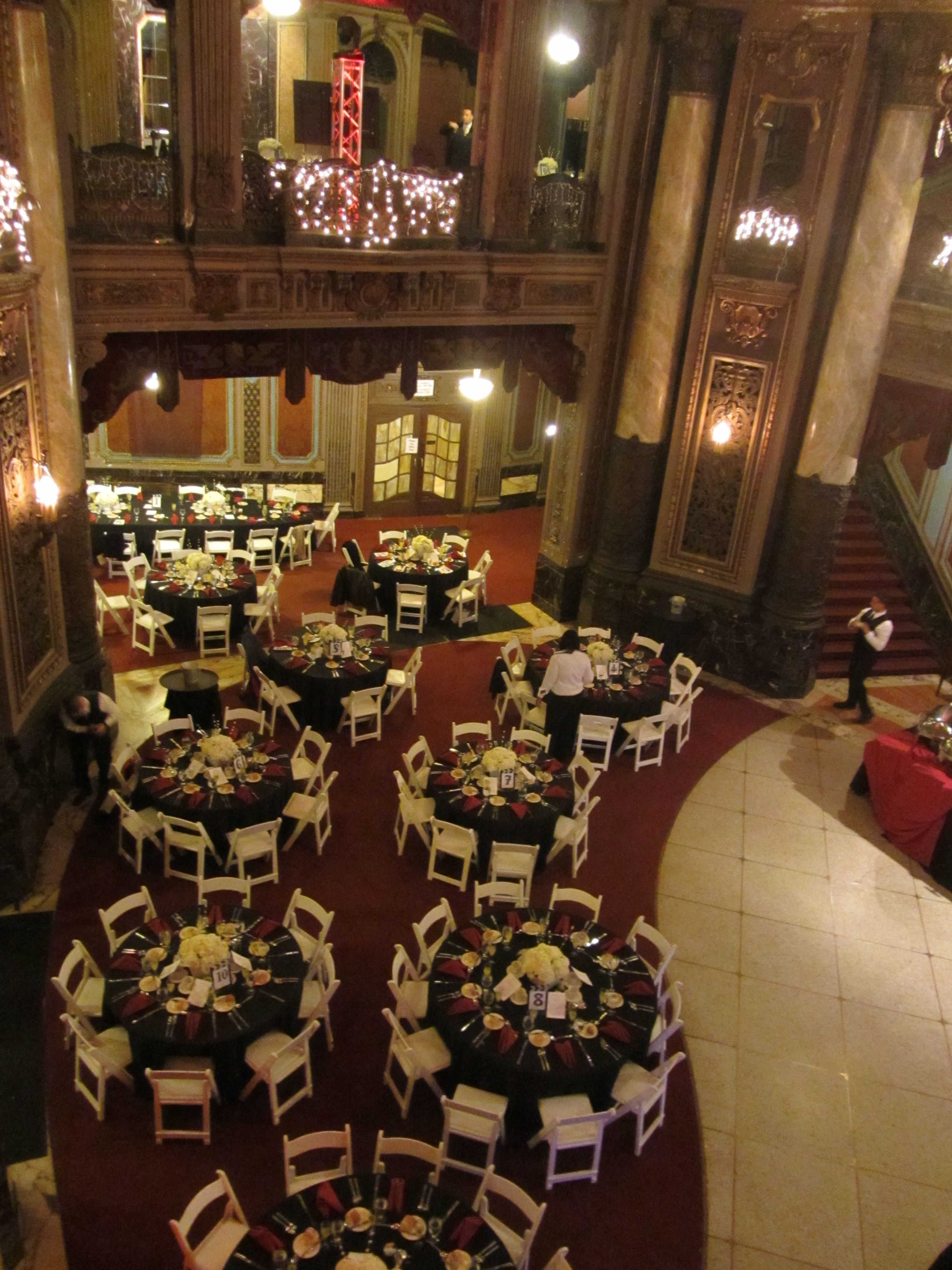 Jersey City Loews Theater Wedding By Culinary Creations No To These Chairs Lunch Restaurants Culinary Catering