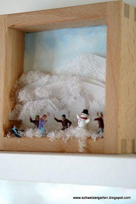 Ein Schweizer Garten: schneelos...