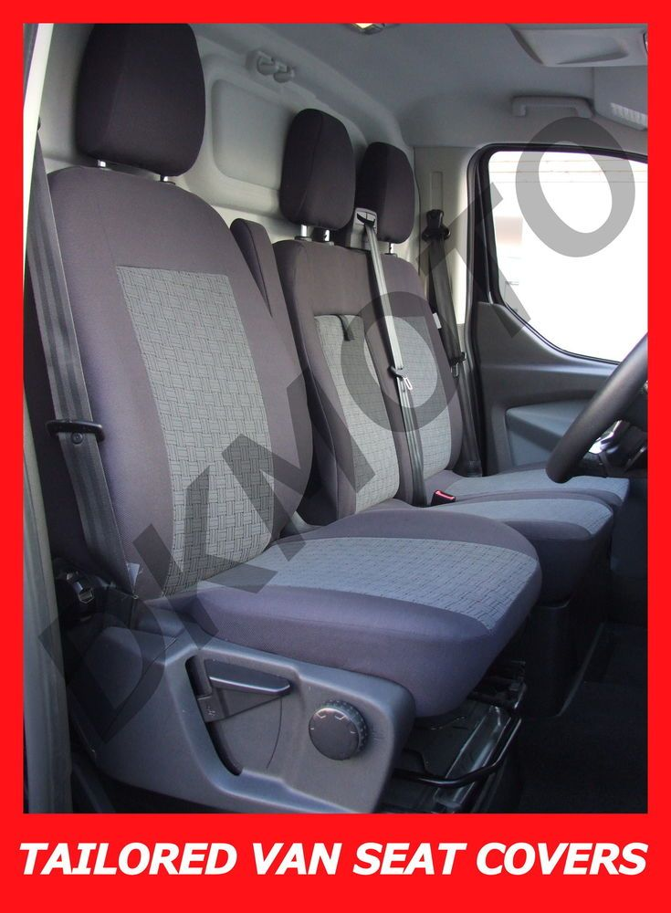 Details About Tailored Seat Covers For Ford Transit Custom 2 1