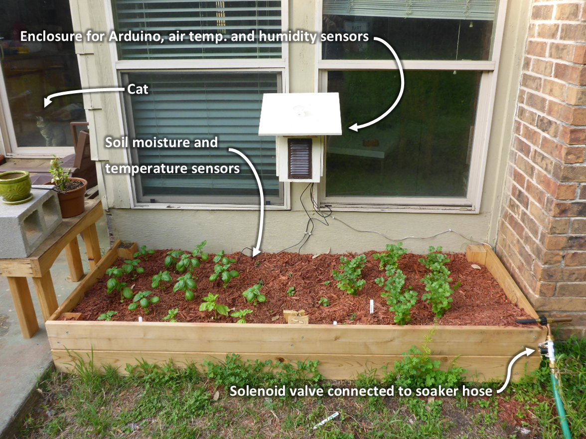 Video Walkthrough Automatic Garden Watering And Data