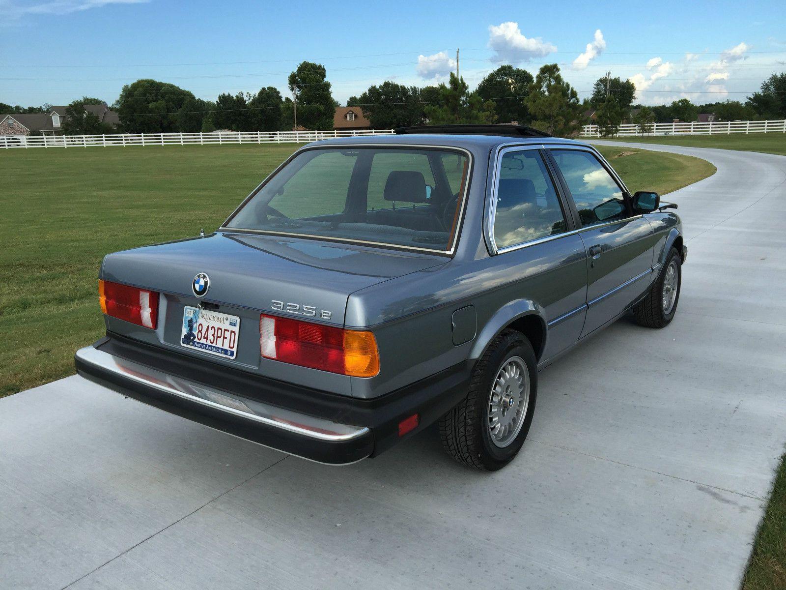 Car brand auctioned:BMW: 3-Series 325e e30 1985 Car model bmw 325 e base coupe 2 door 2.7 l e 30 ...