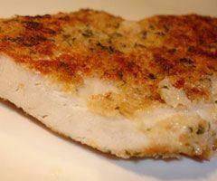 Recetteescalope de poulet au four