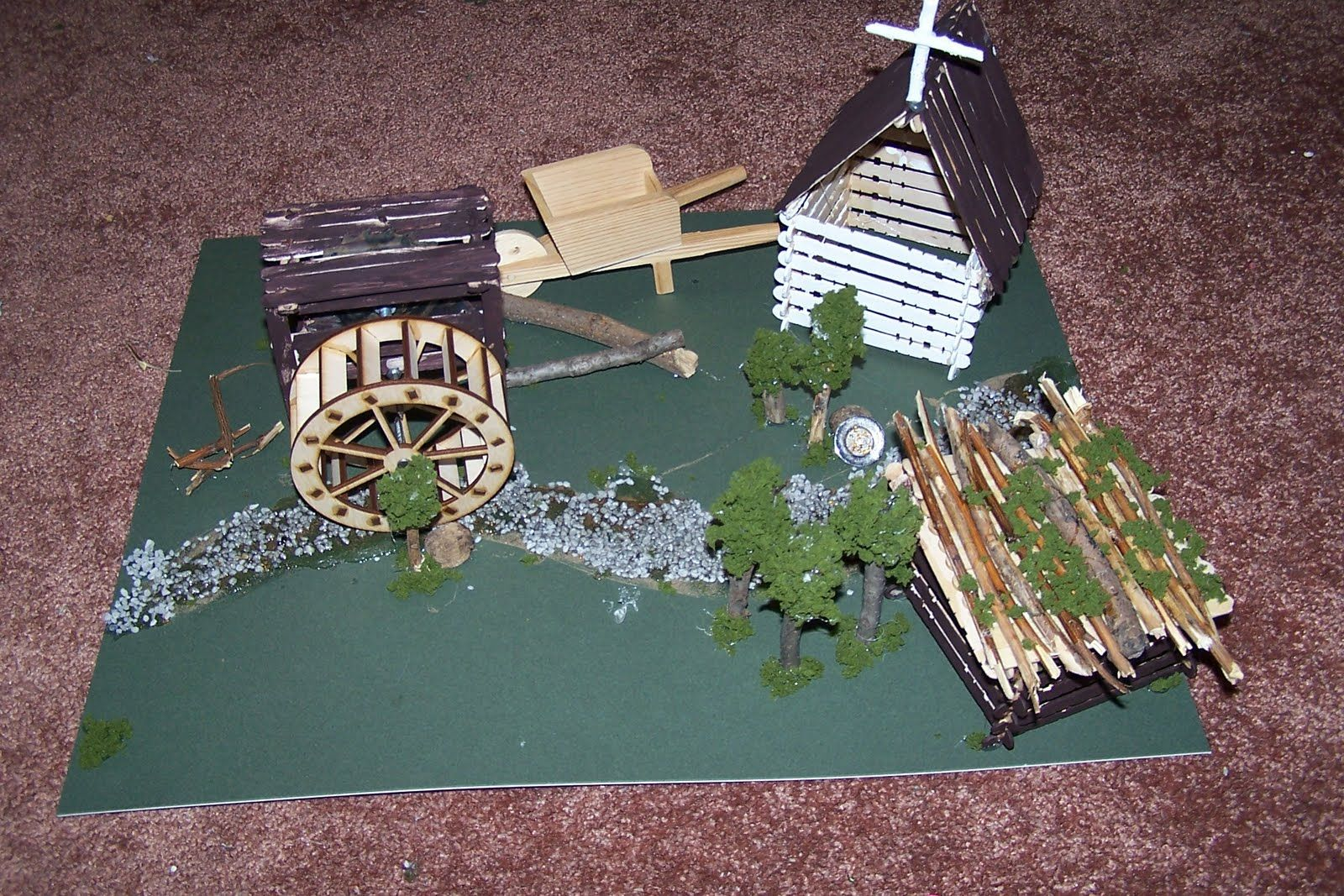 Sutters Mill 4th Grade Project