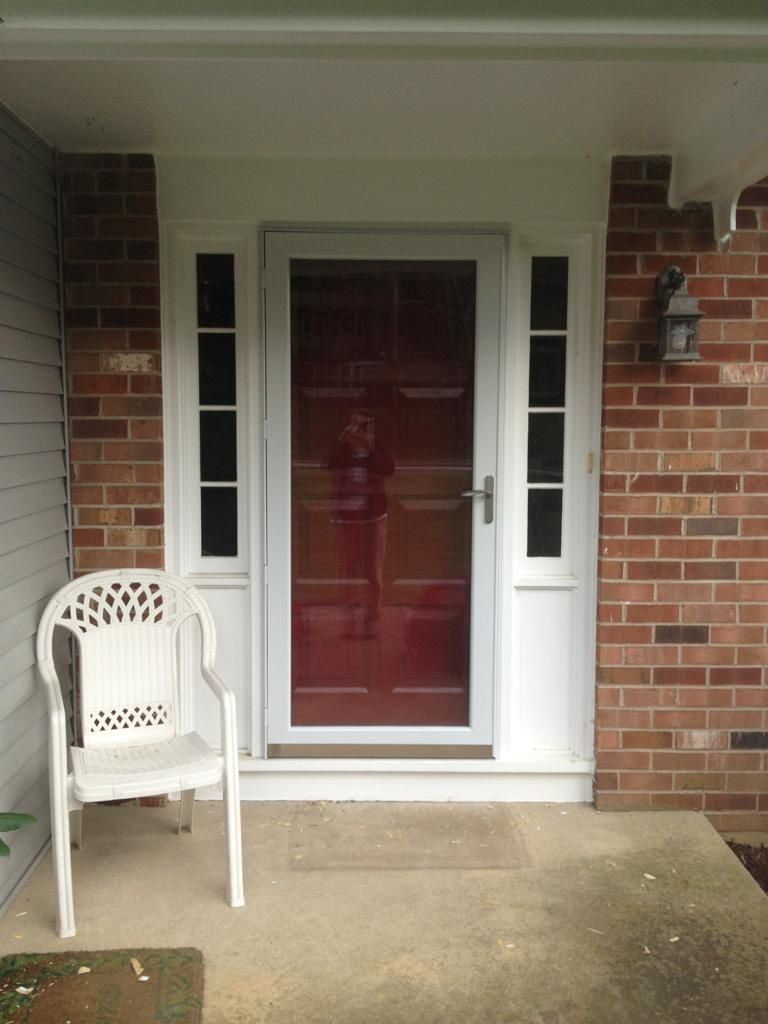 front door with storm doors - Google Search | Front doors ...