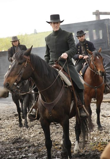 Hell on Wheels  The Swede (Christopher Heyerdahl) and Bolan (Ian Tracey)