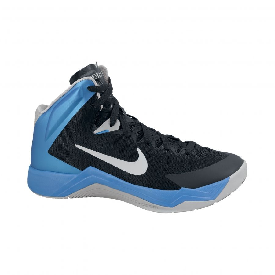 san francisco e7b8d 43c36 Girls Blue Nike Basketball Shoes   Nike Zoom Hyperquickness