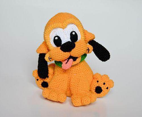 Baby Pluto dog pattern by Kamila Krawka Krawczyk | Manualidades de ...