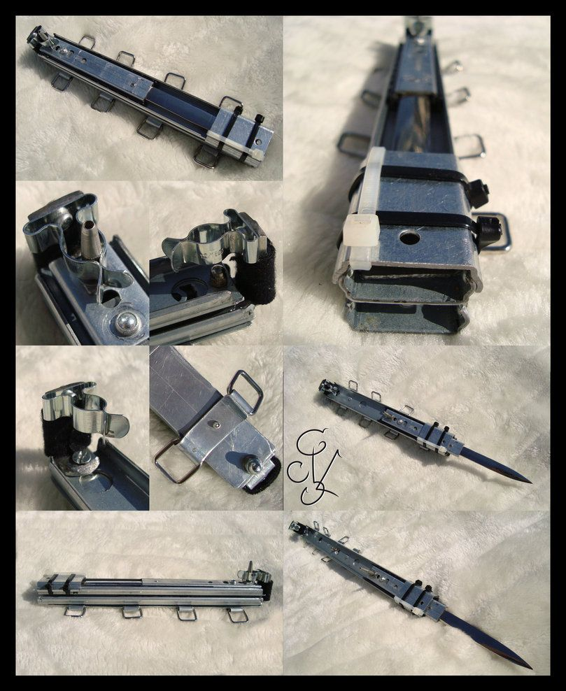 assassin creed hidden blade how to make