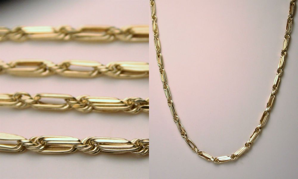 Nice 14k Yellow Gold 24 Milano Rope Link Chain Necklace 6 4 Grams 3mm Estate Oroamerica Chain Jewelry Gifts Jewelry Chain Necklace