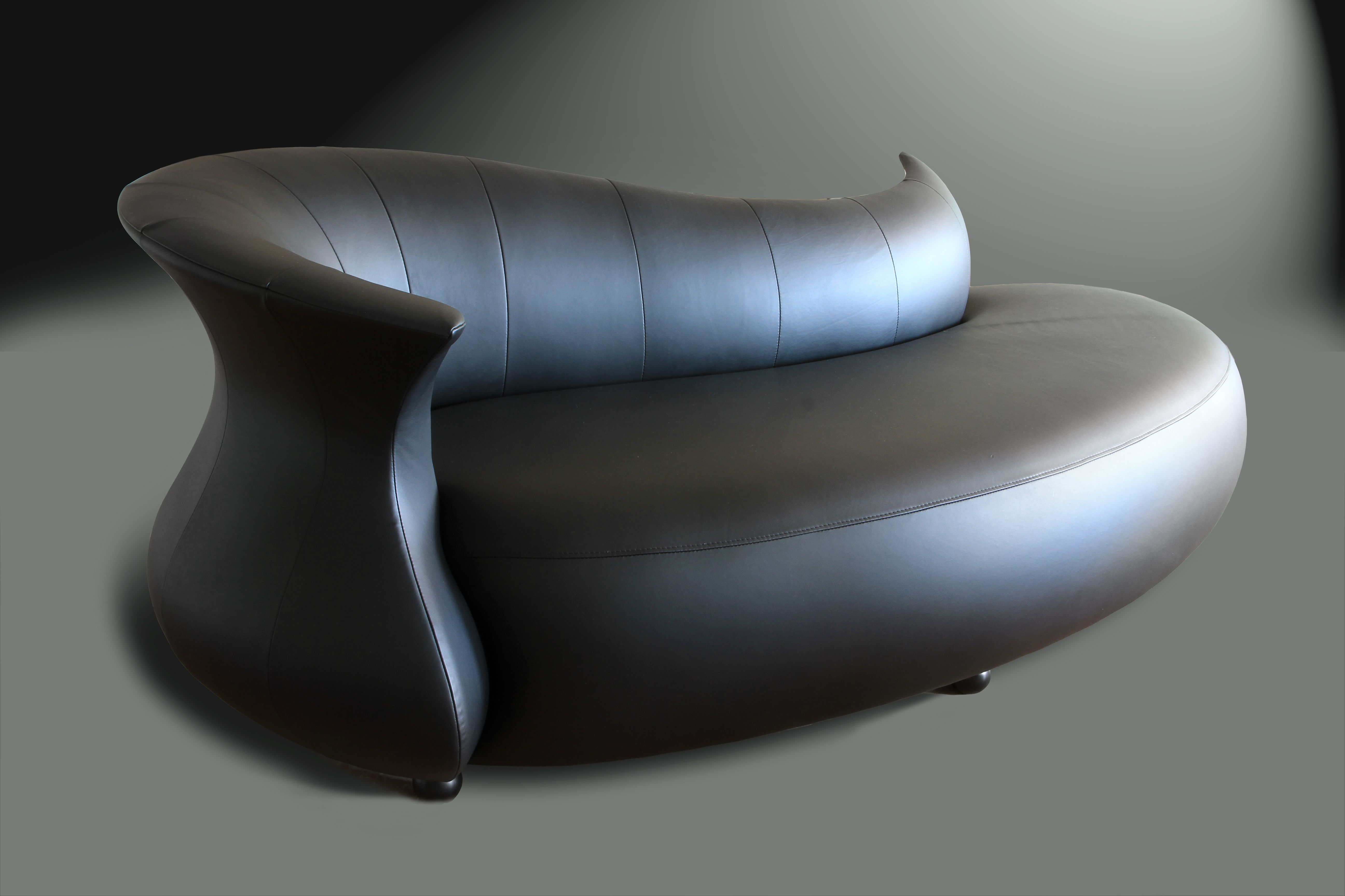 Uncategorized Unique Chaise Lounge divano designs furniture amphora modern chaise lounge sofa 9 classy dark leather coloring with unique design for inspiring indoor decors living room design