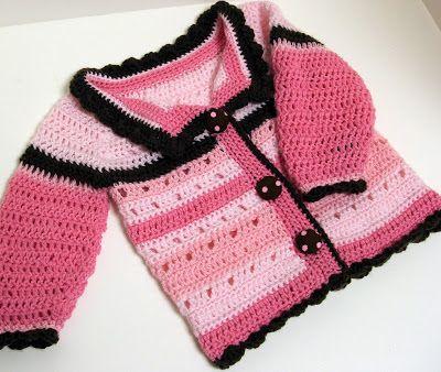Crochet Baby Girl: Jacket