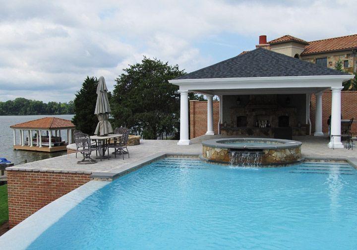 Patio pavilions patio pavilion pool addition photos for Pool pavilion plans