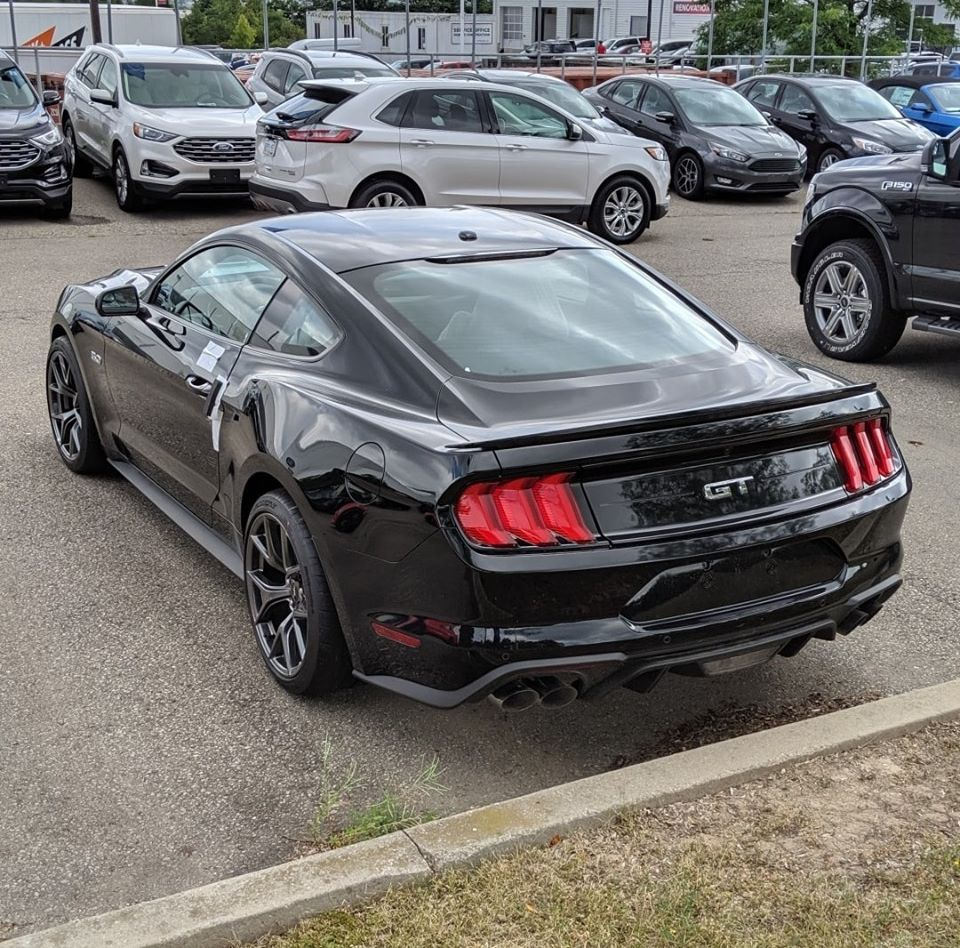 Ford Mustang Gt Race Performance Pack Black Mvford