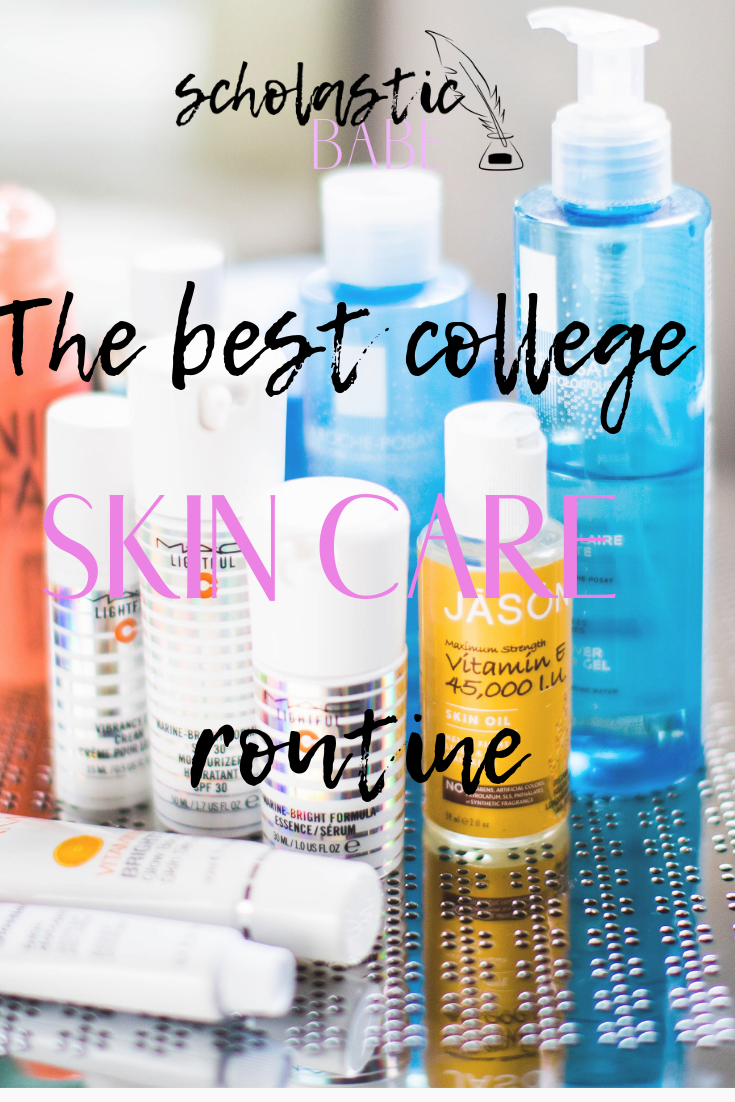 The Best College Skincare Routine Skin Care Routine Skin Care Clear Skin Overnight